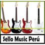 Guitarra Electrica Stratocaster Importada Pack Completo Gra!