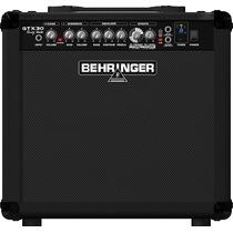 Amplificador Gtx30 Behringer Efectos + Afinador + 30 Watts