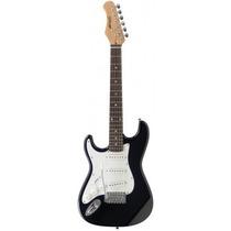 Stagg Guitarra Electrica Zurdo Zurda Negra Todos Los Modelos