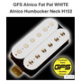 Humbucker Fat Pat Neck White H152 Nuevo En Caja