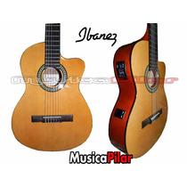 Guitarra Electroacustica Ibanez Ga3 Profesional Con Afinador