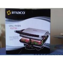 Grill Electrico Imaco Negro, Nueva En Caja Oferta!!!!!