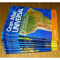 Gran Atlas Universal El Comercio 8 Tomos América Europa