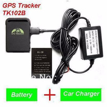 Gps Tk102 Con Cargador Para Bateria 12v-24v Moto Y Auto