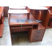 Mueble De Computo Con Tres Cajones