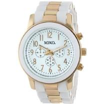 Nuevo Reloj Xoxo Blanco /dorado