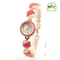 Pedido Regala Por Navidad Adolescentes Reloj Hello Kitty