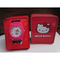 Precioso Reloj Marca Hello Kitty Importado De U S A