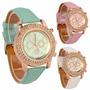 Relojes Geneva Modelo Cristales Super Fashion Oferta!!!