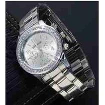 Reloj Geneva De Mujer + Perfume Merci De Esika
