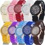 Reloj Geneva Para Damas - Silicona Variados Colores