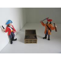Piratas Con Cofre Del Tesoro Pata De Palo No Son Del Caribe