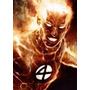 Johnny Storm 4 Fantasticos Fantastic Four Antorcha Humana Ll