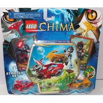 Lego Chima 70113 Starter Set Nuevo Longtooth Y Wakz Chi Batt