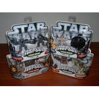 Star Wars Galactic Heroes Luke Vader Mandalorian Pre Vizsla