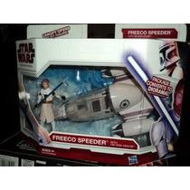 Star Wars The Clone Wars Freeco Speeder Obi Wan Kenobi