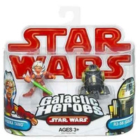 Star Wars Galactic Heroes Ahsoka Tano & R3-s6 (goldie Oferta