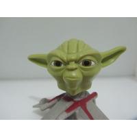 Star Wars Yoda Cabezon Con Su Nave