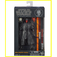 Darth Maul The Black Series De Star Wars Hasbro A Pedido