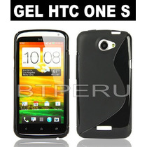 Funda Gel Para Htc One S Z520e Protector Tpu Flexible