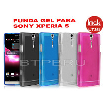 Protector Funda Gel Tpu Para Sony Xperia S Lt26i Imak