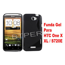 Funda Gel Para Htc One X Xl Protector Silicona En Stock Tpu
