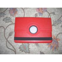 Stock Estuche Funda Samsung Galaxy Tab 10.1 P7510 Rojo
