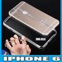 Mica + Funda Gel Tpu Transparente Para Iphone 6 Traslucido