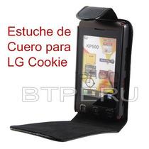 Funda Estuche Cuero Lg Cookie Kp500 Kp570 Kp550 Protector