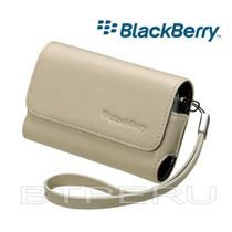 Estuche Cuero Para Blackberry 8520 8900 9700 9800 Original
