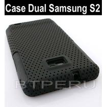 Funda Silicona +case Para Samsung Galaxy I9100 S2 Protector