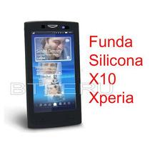 Funda Silicona Para Sony Ericsson X10 Xperia Skin Protector
