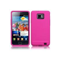 Protector Silicona Fucsia Samsung Galaxy S2 I9100 Original