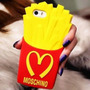 Case Carcasa Papas Fritas Moschino Iphone 4 4s 5 5s 6 6plus
