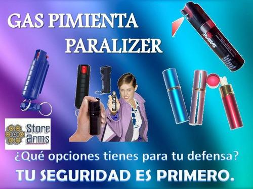 Gas Pimienta Paralizzer Para Defensa Personal