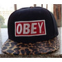 Gorra Obey Animal Ajustable Stock Negra