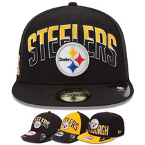Gorra New Era Pittsburgh Steelers Moda Urbana Talla 7 3/8=57