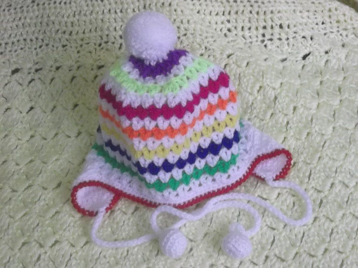 De colcha o cubrecama tejidos a ganchillo crochet ajilbab - Gorritos bebe ganchillo ...