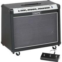 Crate Fw120 Amplificador Guitarra+footswitch+ruedasofertault