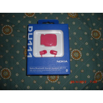 Bluetooth Nokia Original En Caja Bh 111 Rosado Sellado Caja