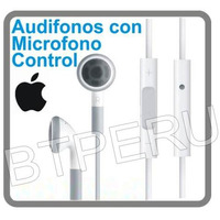 Audifonos Manos Libres Apple Iphone 3g Ipod Touch Nano Volum