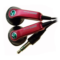 Auriculares Hpm-64 Sony Original Super Bass Rojo En Stock