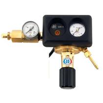Flujometro,regulador Mig/mag Para C02 Con Calentador,soldar