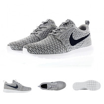 Zapatillas Nike Roshe Flyknit | 2015 Run Free Blanco White