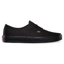 zapatillas vans negras piel
