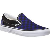 Vans Slip On Spectrum Azul Negro Tallas