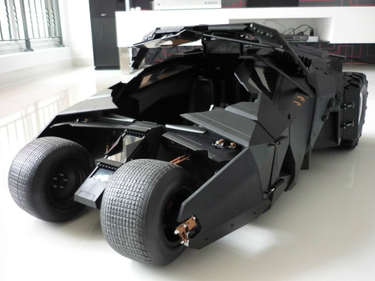 Batmobile Dark Knight Hot Toys Hot Toys The Dark Knight
