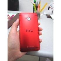 Htc One M7 Color Rojo 32gb/2gb Ram 100% 4glte Movista Claro