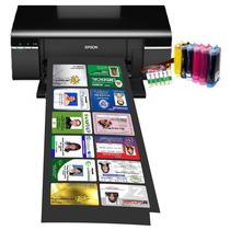 Epson T50 Modificada Imprime 3 Dvd - 12 Fotocheck