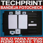 Bandeja Impresora Fotocheck Pvc Full Color T50 R290 Rx610
